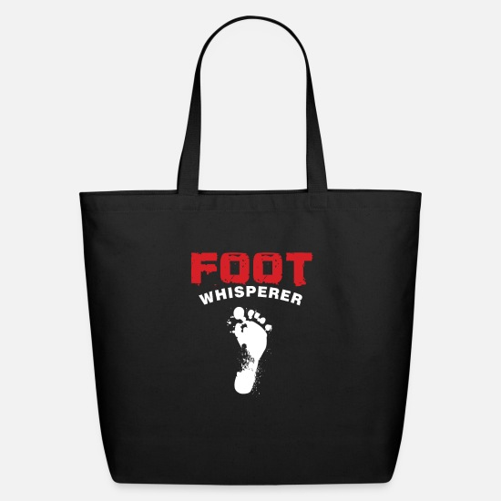 Podiatry Bags & Backpacks - Podiatrist Foot Doctor Podiatric Physician Foot - Eco-Friendly Tote Bag black