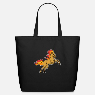 Stallion Horse stallion pony gift riding horses mare - Eco-Friendly Tote Bag