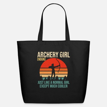Archery Archery Girl Definition Funny Archery Women Shirt - Eco-Friendly Tote Bag