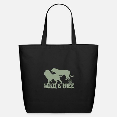 Wild Boar Wild and free - Eco-Friendly Tote Bag