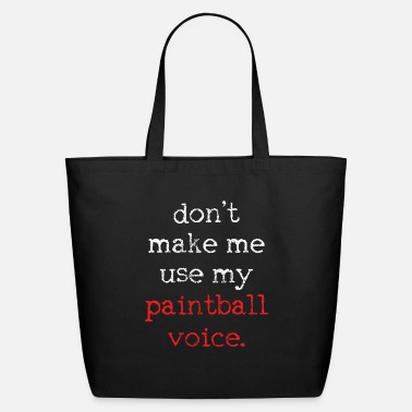 Paintball Paintball Paintball - Eco-Friendly Tote Bag