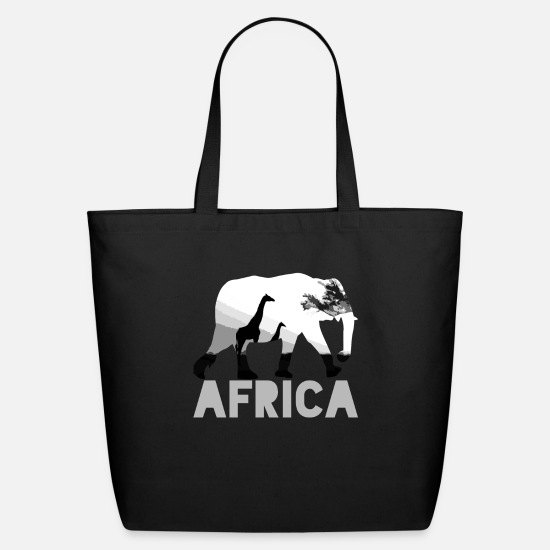 Trip Bags & Backpacks - Africa Africa - Eco-Friendly Tote Bag black
