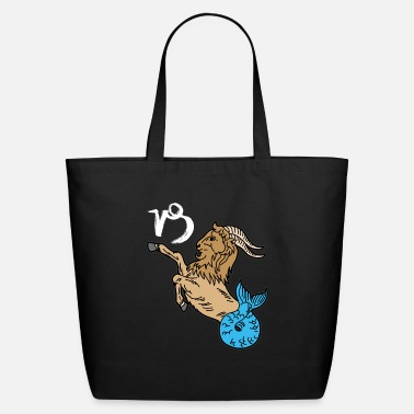 Astrology CAPRICORN Zodiac Sign Astrology Horoscope - Eco-Friendly Tote Bag
