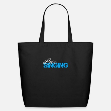 Singing Singing - Eco-Friendly Tote Bag