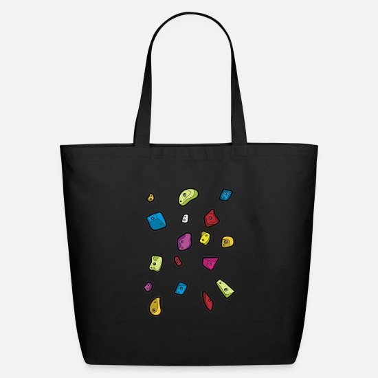 Top Bags & Backpacks - BOULDER Blocks Indoor Climbing Bouldering - Eco-Friendly Tote Bag black