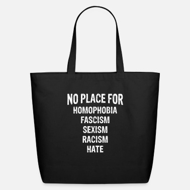 Hate No Hate Equality Anti-Hate No Bully Kindness Wins - Eco-Friendly Tote Bag