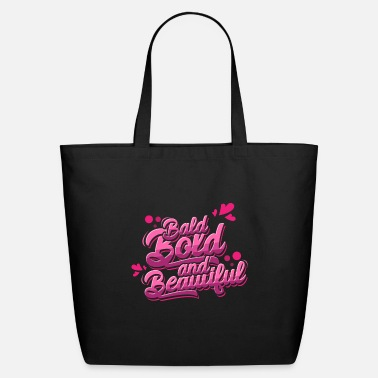 Alopecia Areata Bald Bold and Beautiful Alopecia Areata - Eco-Friendly Tote Bag