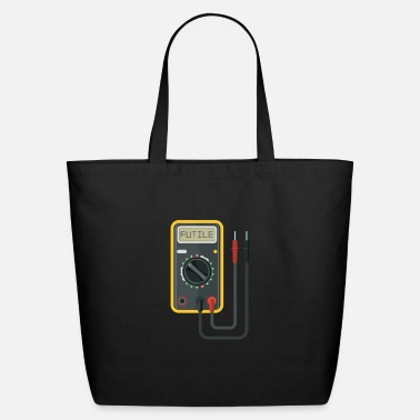 Electricity Electrical Electricity Tradesman Wiring - Eco-Friendly Tote Bag