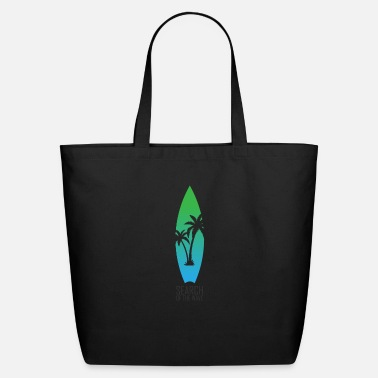 Catch the board and Go surfing - Eco-Friendly Tote Bag