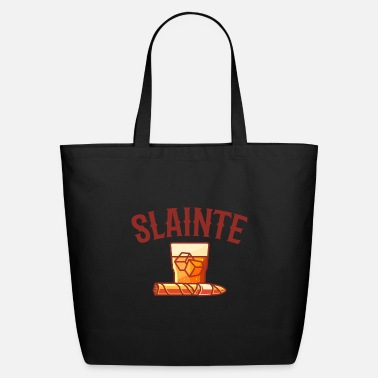 Whiskey Cigar & Whiskey Slainte Aficionado Cigar Gift - Eco-Friendly Tote Bag