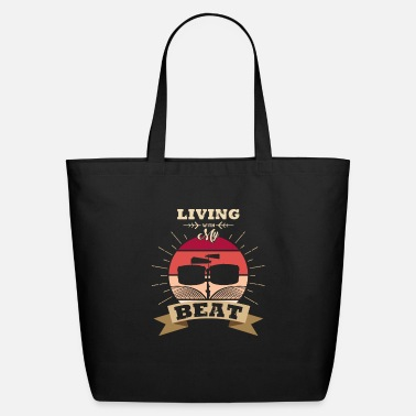 Heart Drums Drum - Eco-Friendly Tote Bag