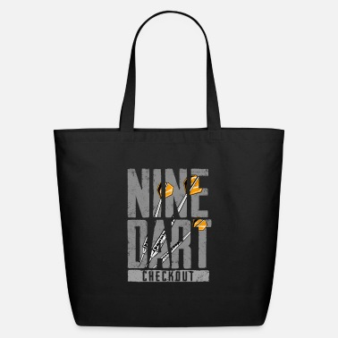 Checkout Nine Dart Checkout Gift Idea funny - Eco-Friendly Tote Bag