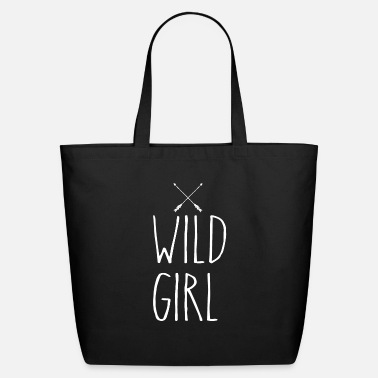 Wild Wild Girl - Eco-Friendly Tote Bag