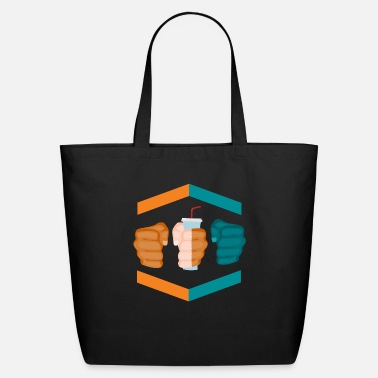 Gamebred Sticker 3 Piece And A Soda Gamebred MMA Dolphins Fighter - Eco-Friendly Tote Bag
