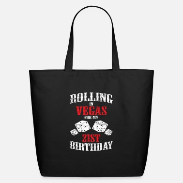 Las Las Vegas 21st Birthday Party Gift Gambler - Eco-Friendly Tote Bag