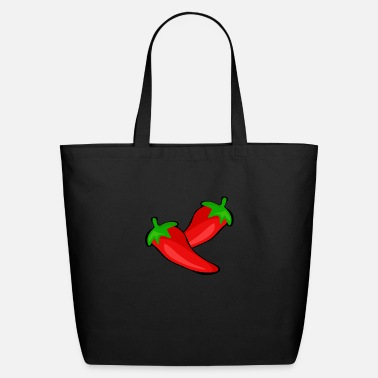 Red pepper Design - Eco-Friendly Tote Bag