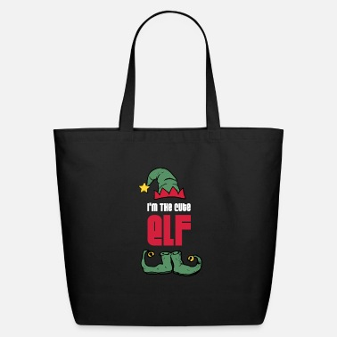 Santa Claus Christmas Cute Elf - Eco-Friendly Tote Bag