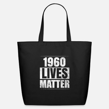 Funny 60th Birthday Funny Birthday Vintage 1960 Gift Idea - Eco-Friendly Tote Bag