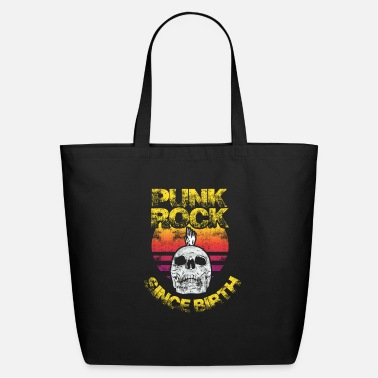 Symbol Punk Rock Music Retro Punkrock Gift - Eco-Friendly Tote Bag