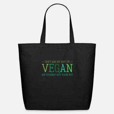 Animal Vegetarian Animal Lover Animal Rights Activist - Eco-Friendly Tote Bag