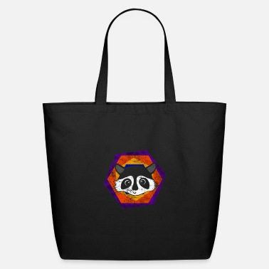 Bandit Raccoon - Eco-Friendly Tote Bag