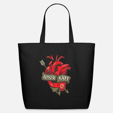 Fate Stoicism Stoic Quote Amor Fati - Eco-Friendly Tote Bag