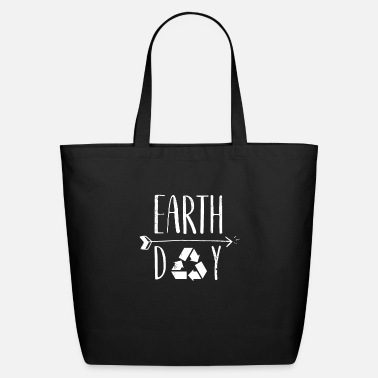 Decoration Earth Day 50th Anniversary Cute Vintage Recycling - Eco-Friendly Tote Bag