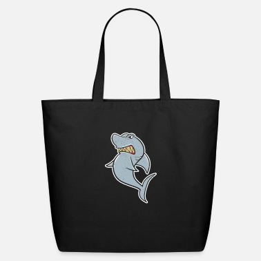 Pirate Shark - Eco-Friendly Tote Bag