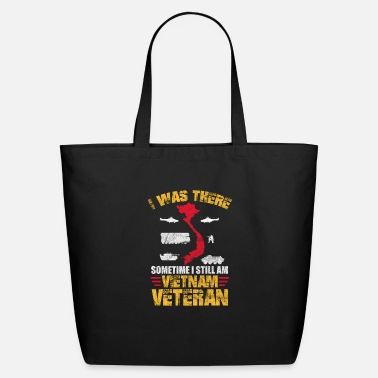 Combat Infantry Vietnam I Was There Sometimes I Still Am Vietnam Veteran - Eco-Friendly Tote Bag