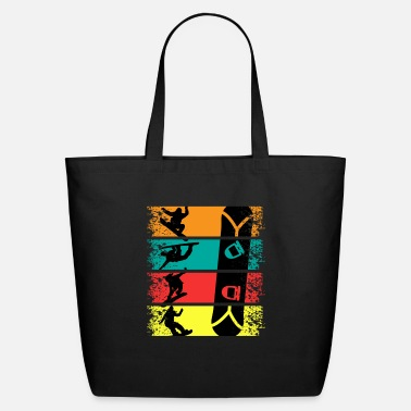 Snowboard Snowboarding Vintage Snowboarder Winter Sport Gift - Eco-Friendly Tote Bag
