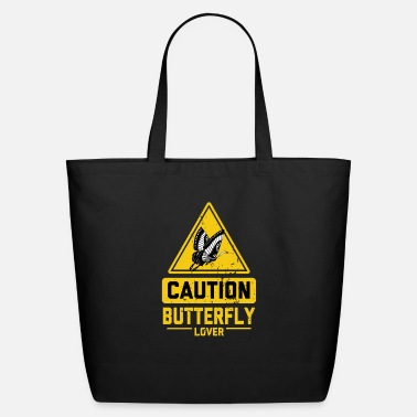 Rescue CAUTION Butterfly Lover - Eco-Friendly Tote Bag
