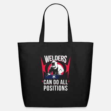 Funny Welder Shirt - Eco-Friendly Tote Bag
