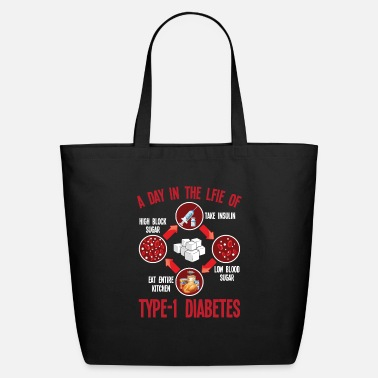 Kitchen Warrior Type 1 Diabetes Support T1D Diabetic Awareness - Eco-Friendly Tote Bag