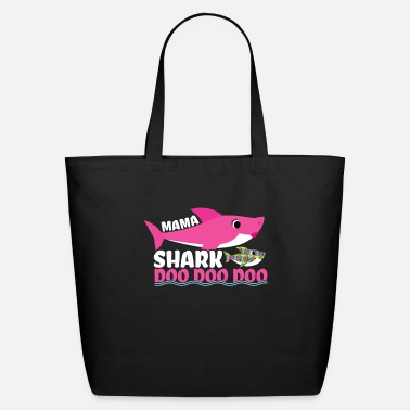 Piece Mama Shark Autism Awareness Autism Superhero - Eco-Friendly Tote Bag