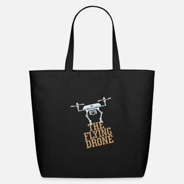 Pilot The flying drone - Quadrocopter - Eco-Friendly Tote Bag