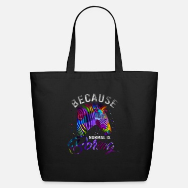 Zebra Colorful Zebra Gift - Eco-Friendly Tote Bag