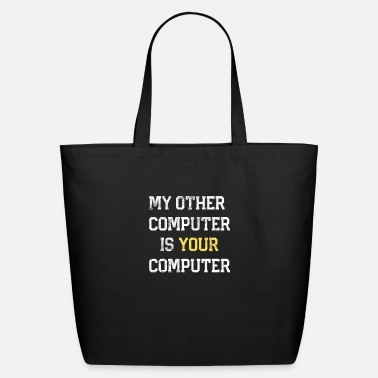 Hacker Linux Hacker Hacking Programmer Linux Gift Hackers - Eco-Friendly Tote Bag