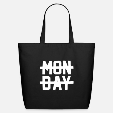 Monday Crossed Out Top I Hate Sucks Fa - Eco-Friendly Tote Bag