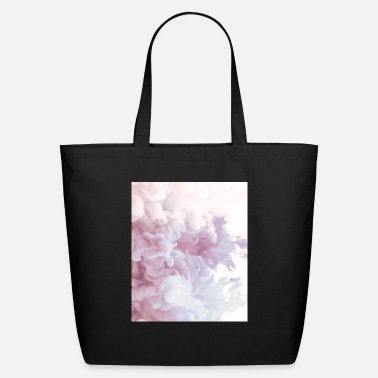 Birthday Boy Gift Abstract Color Pattern Rose White - Eco-Friendly Tote Bag