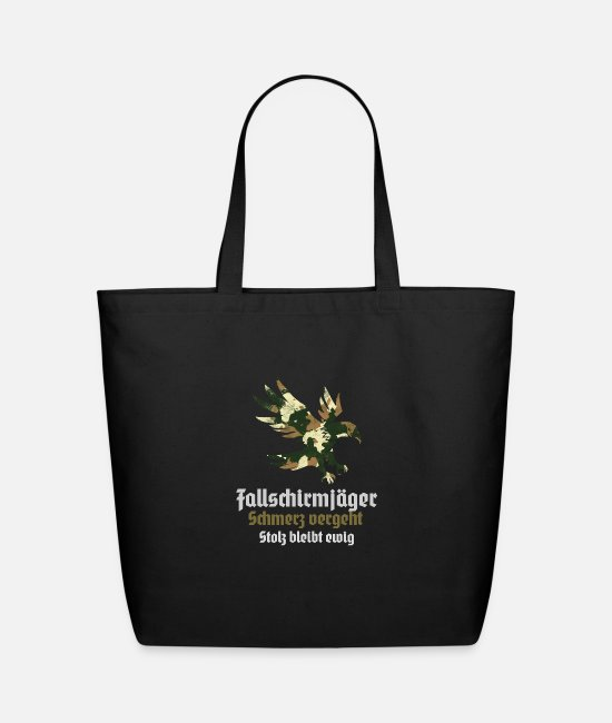 Office Bags & Backpacks - paratroopers jumper course Ehren TShirt - Eco-Friendly Tote Bag black