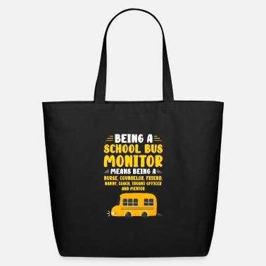 Truant Being A School Bus Monitor - Eco-Friendly Tote Bag