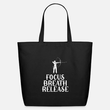 Archer Focus breath release archery - Eco-Friendly Tote Bag