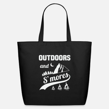 Outdoors And Smores - Eco-Friendly Tote Bag