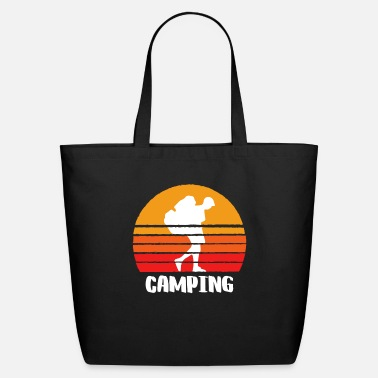 Hobby Camping Sunset - Eco-Friendly Tote Bag