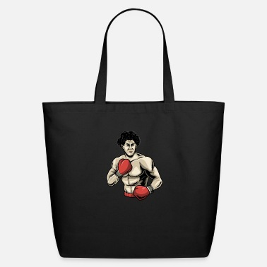 Boxing Gloves Boxing Boxer FIghting - Eco-Friendly Tote Bag