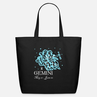 Gemini Man Gemini the Twins Constellation - Eco-Friendly Tote Bag