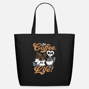 Mugs-cups Dogs Books and Coffee - Eco-Friendly Tote Bag