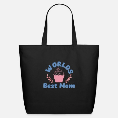 Hockey Worlds Best Mom - Eco-Friendly Tote Bag