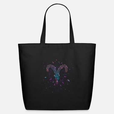 Laptop Zodiac Aries - Eco-Friendly Tote Bag