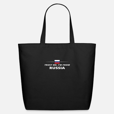 Russia trust me i from proud gift RUSSIA - Eco-Friendly Tote Bag